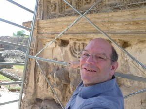 Dr. Fine on Site in Rome