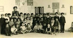 Esther Ostrovsky's First Grade Class