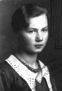 Jadwiga Deneko, a courier for the Children's Section of Zegota, the Polish Underground's Council for Aid to the Jews. Deneko was arrested in November 1943 at a safe house in Warsaw in which she was caring for 13 Jewish children smuggled out of the Warsaw ghetto. She was executed by firing squad on January 8, 1944. (Courtesy of 2B Productions.)