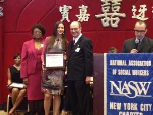 Wurzweiler Graduate Elisheva Lock receives Emerging Leader's Award