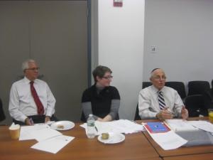 Dr. Norman Linzer leads workshop