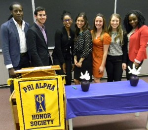 Phi Alpha Inductees
